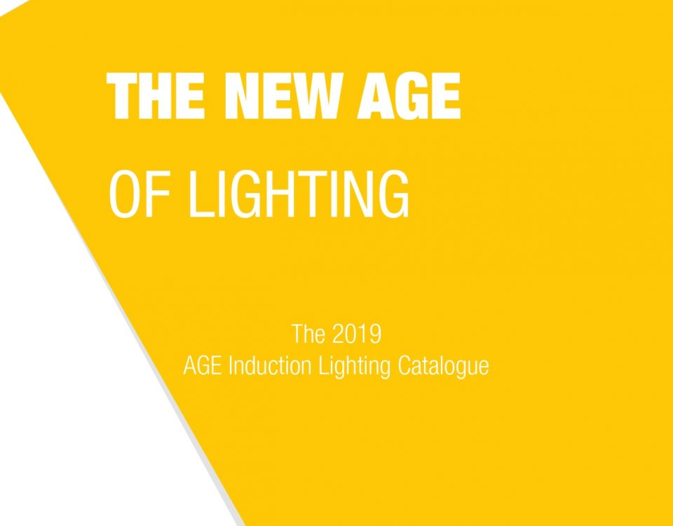 AGE Induction Lighting Catalogue 2019